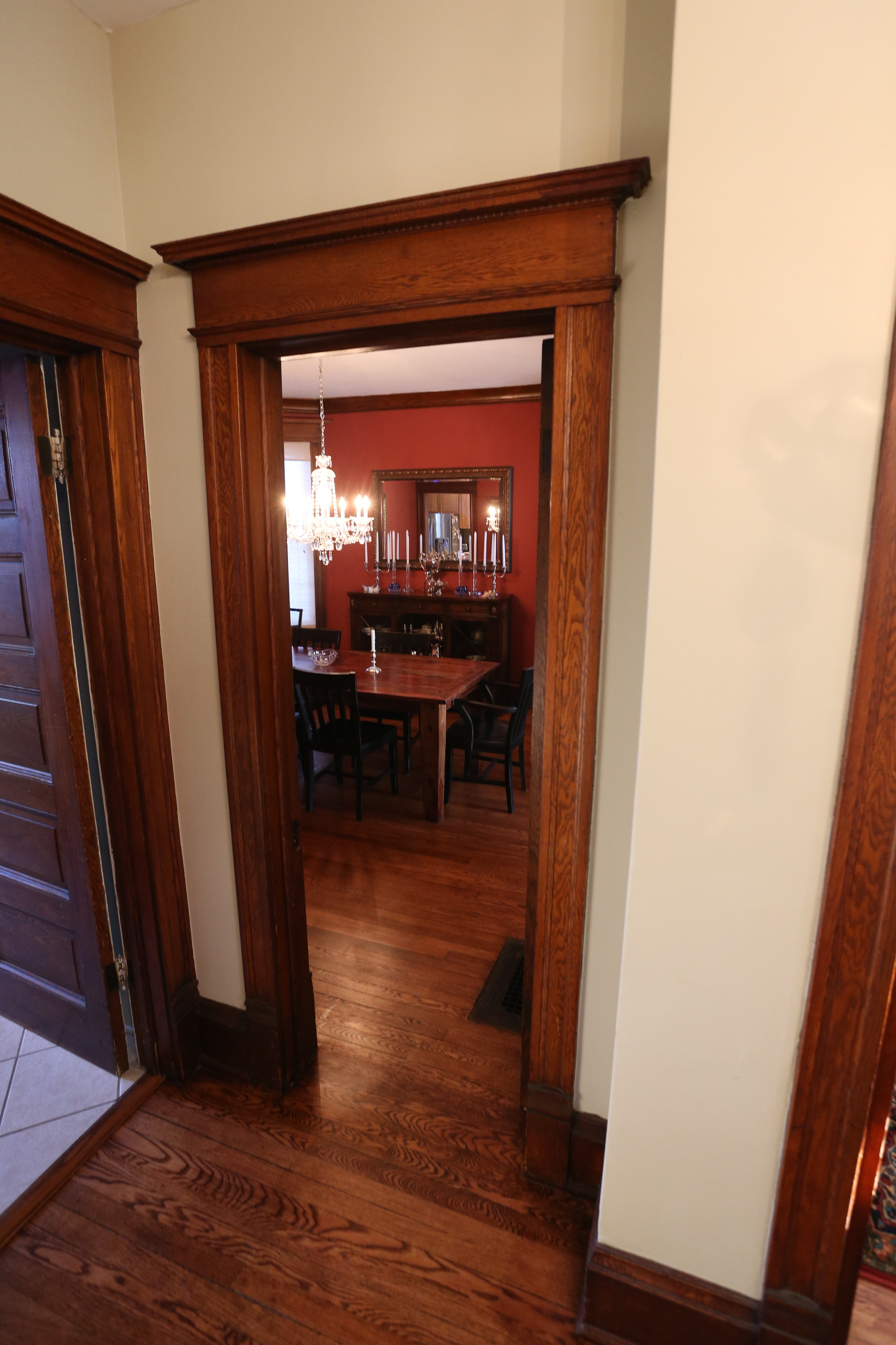 foyer looking into dining room