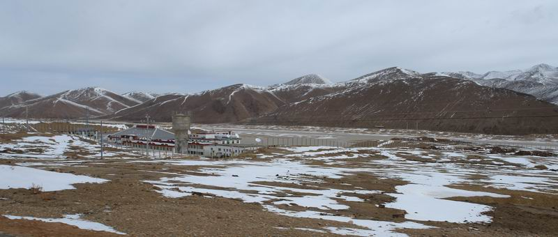 Qamdo Bangda Airport 4,334m above sea level