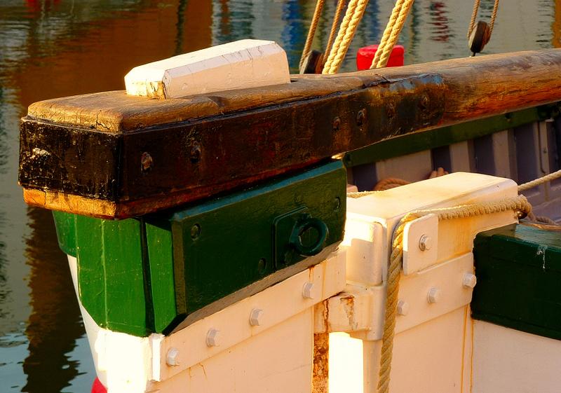 The old rudder