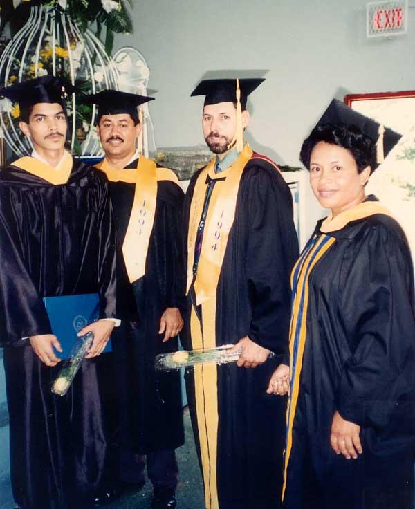 Graduación con Profesores