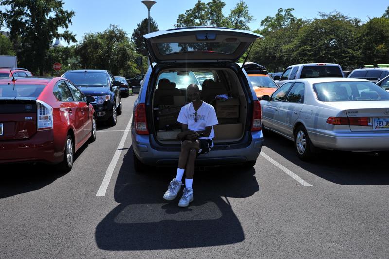 OU Freshman Move In Day