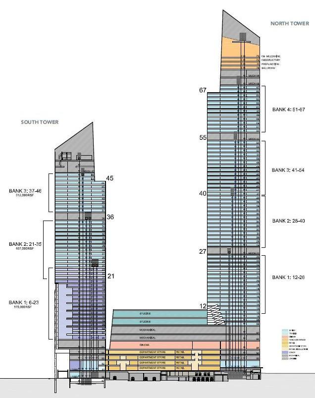 New York 30 Hudson Yards North Tower 1 296 Ft 92 Floors