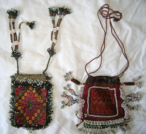 Embroidered Purses