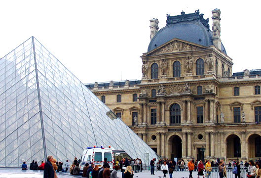 The Piramid at the Louvre