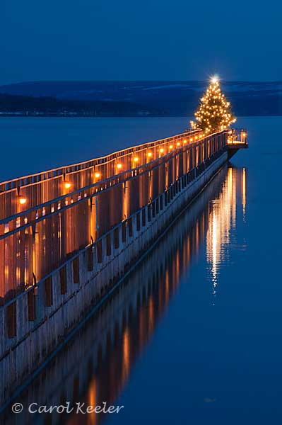 The Pier at Christmas