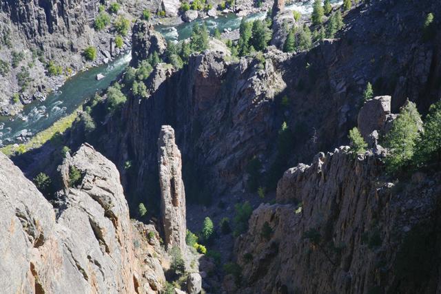 Gunnison Rock Formations