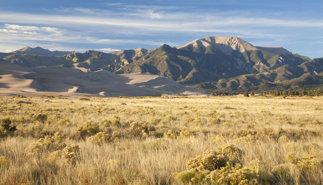 Near The Great Sand Dunes National Park