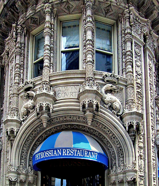 Petrossian in the Alwyn Court Building
