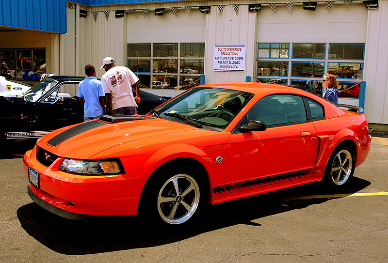 2004 Ford Mustang Mach 1 40th Anniversary Edition 428