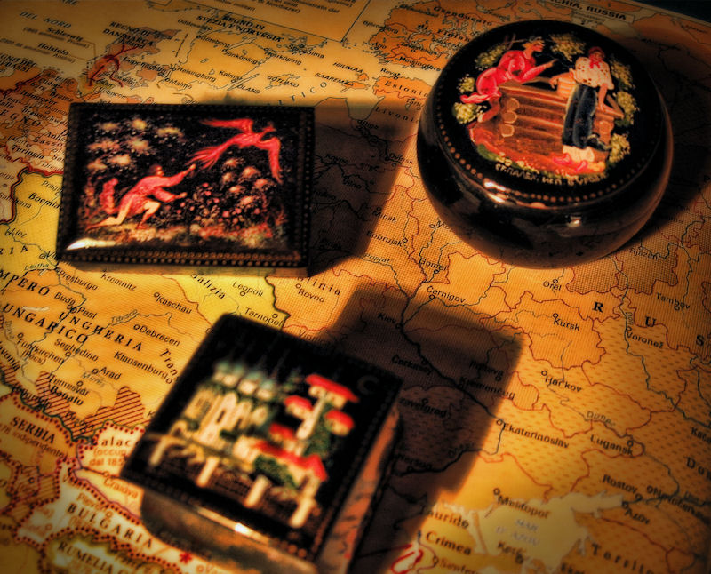 The Elderly ladys travel souvenir from Russia