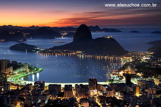 Baía de Guanabara, Mirante Dona Marta, Rio de Janeiro 6621-1