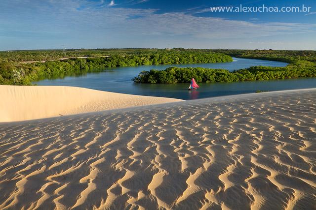 Foto do Rio Aracatiaçu (Créditos: Alex Uchoa)