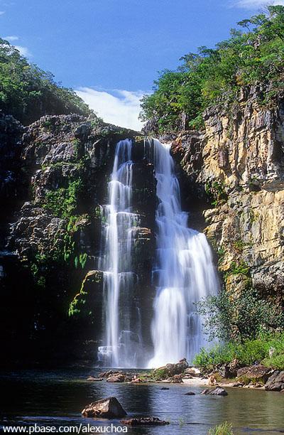 Salto I do Rio Preto, Chapada dos Veadeiros
