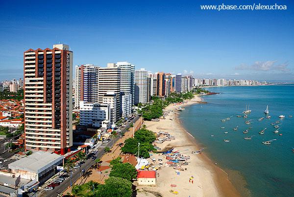 Orla de Fortaleza em frente à Praia do Mucuripe_1592