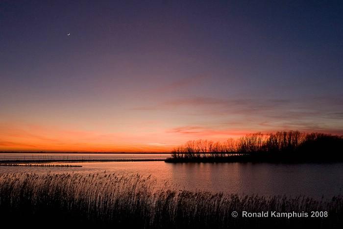 Sunset Lauwersmeer
