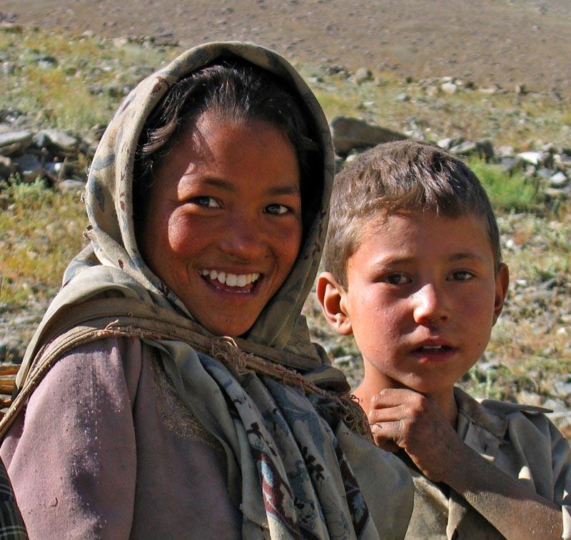 Children, Suru valley