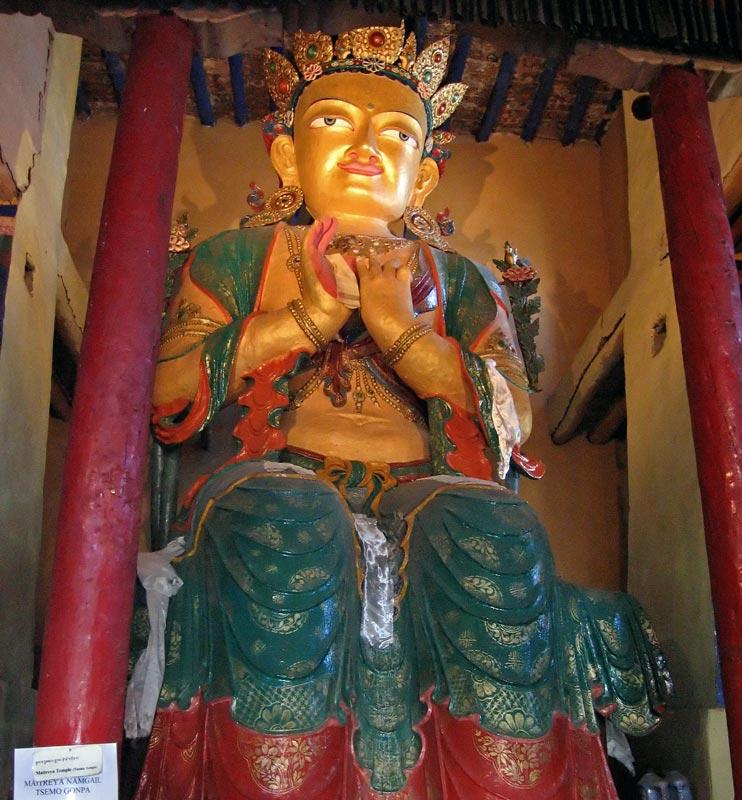 Maitreya, Tsemo