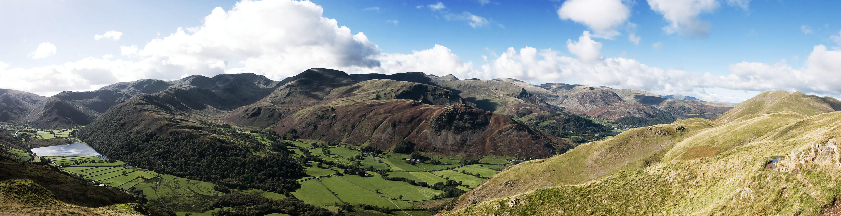 Patterdale from Angletarn Pikes