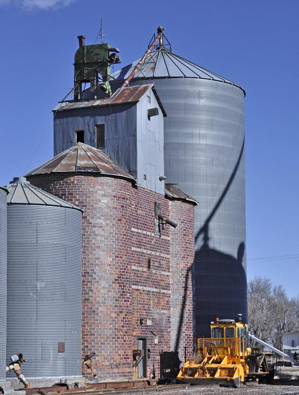 Moorefield, NE old grain elevator.