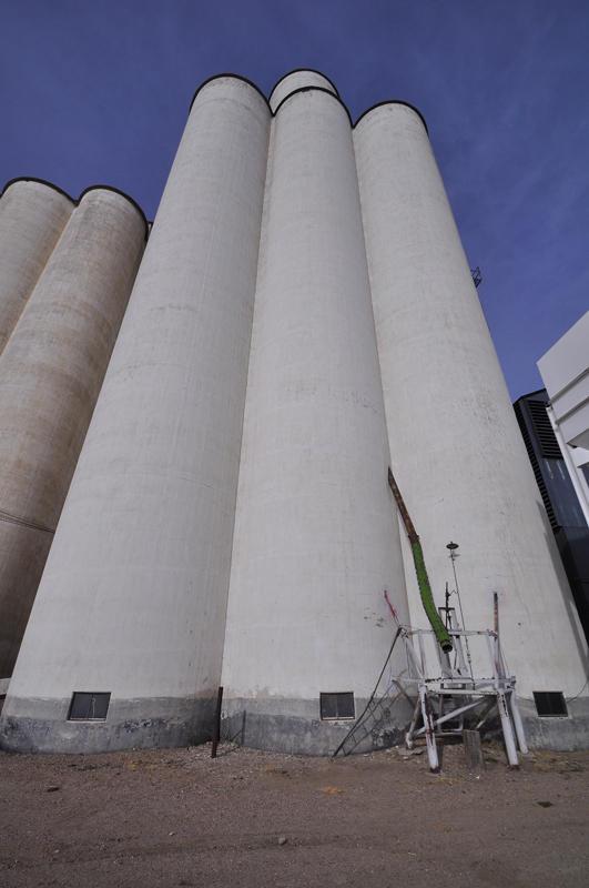 Tillotson Construction Company-Omaha, NE grain elevator.