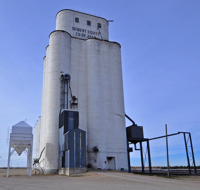 Tillotson Construction Co-Omaha, NE built grain elevator-Seibert, CO.