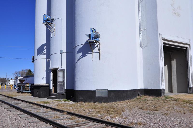Tillotson Construction Company/Omaha, NE built grain elevator-Dalton, NE