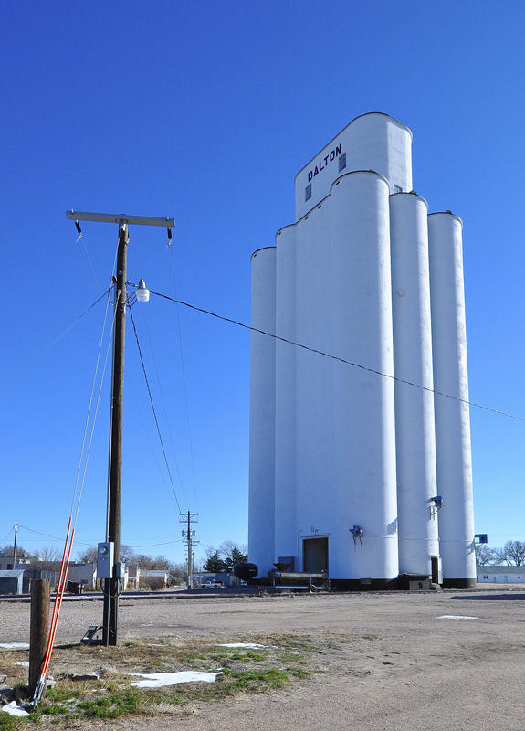 Tillotson Construction Company/Omaha,NE built grain elevators-Dalton, NE.