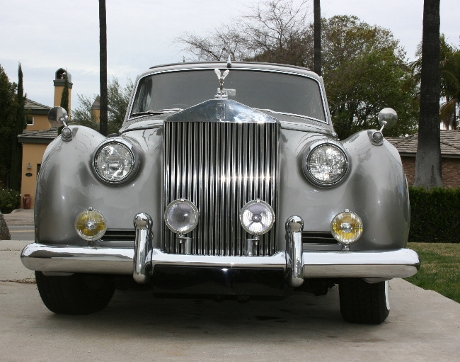 This is one of the Rolls Royces, the other 2 are older.