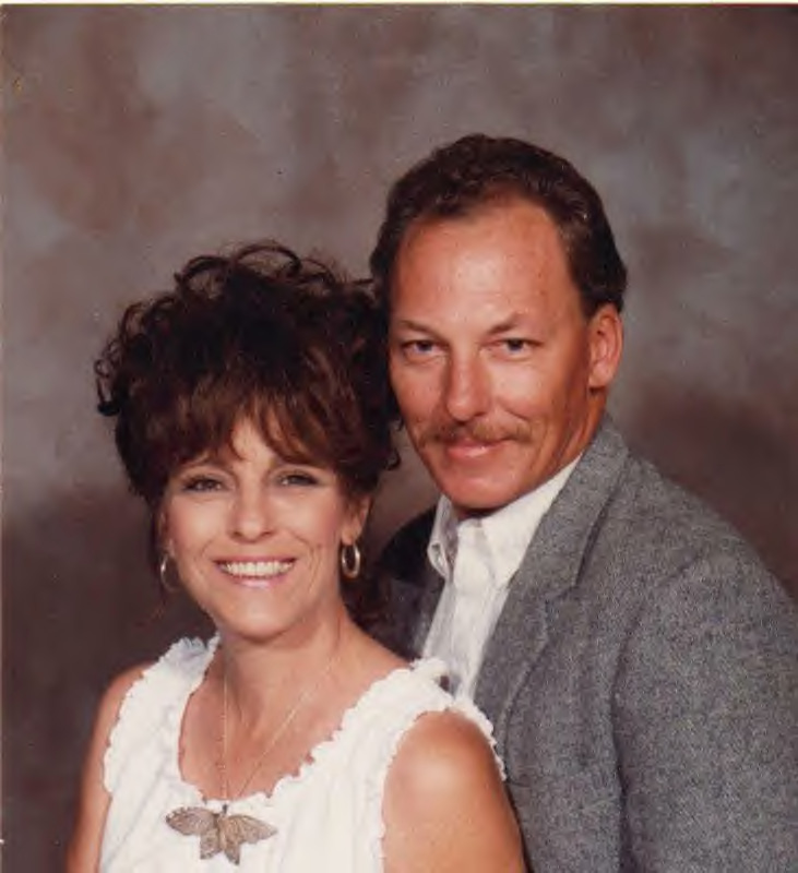 Don and I about 15 years ago ....oops!  This was about 20 years ago, time flies when you are having fun!  ;-)