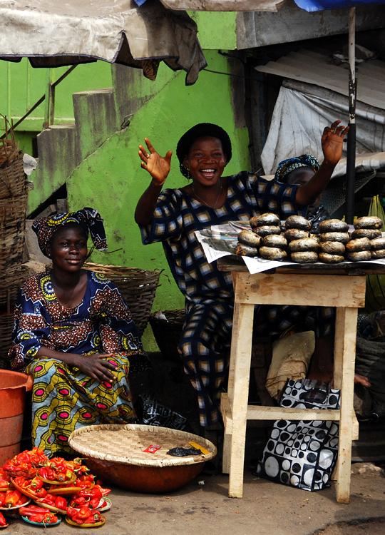 Street Scene: Ibadan