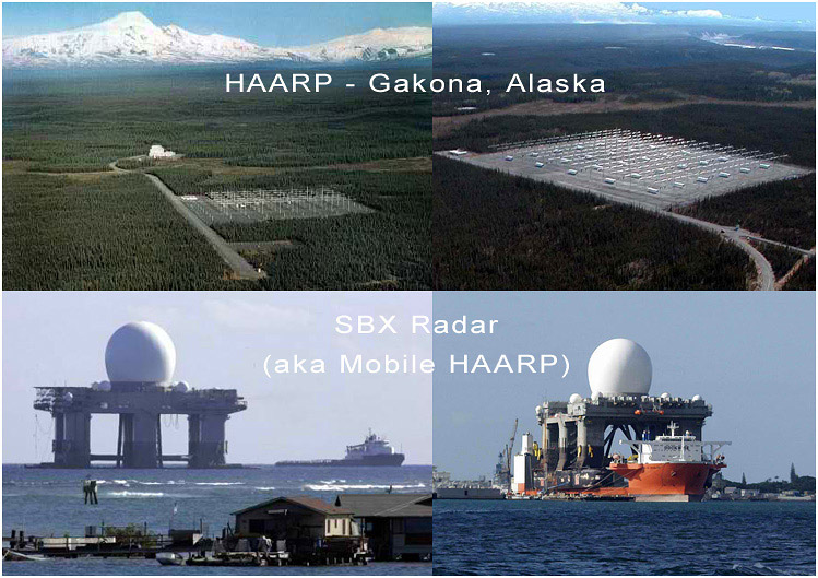 HAARP and SBX radar