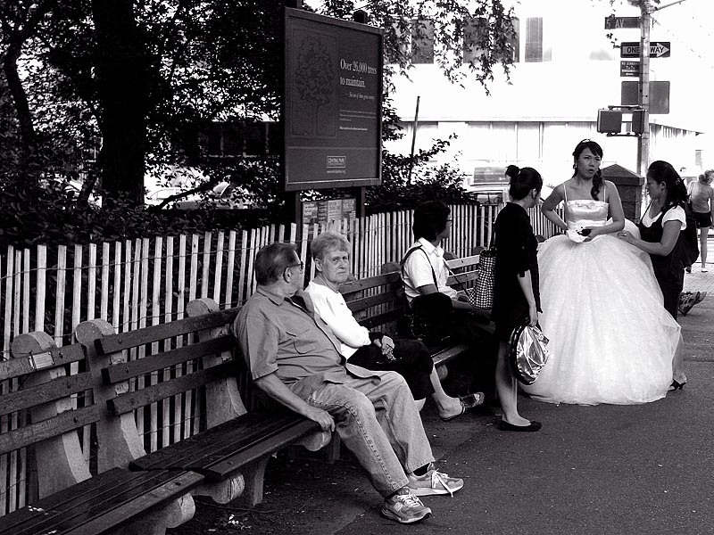 Waiting for the groom