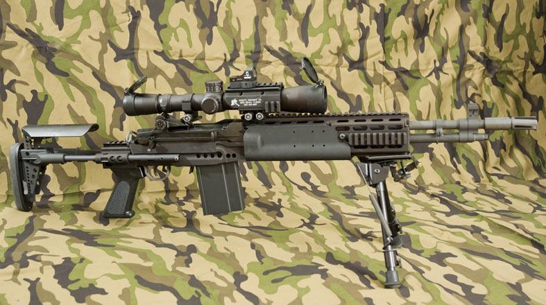 The ACOG eye relief is no more  M14 Ebr Acog