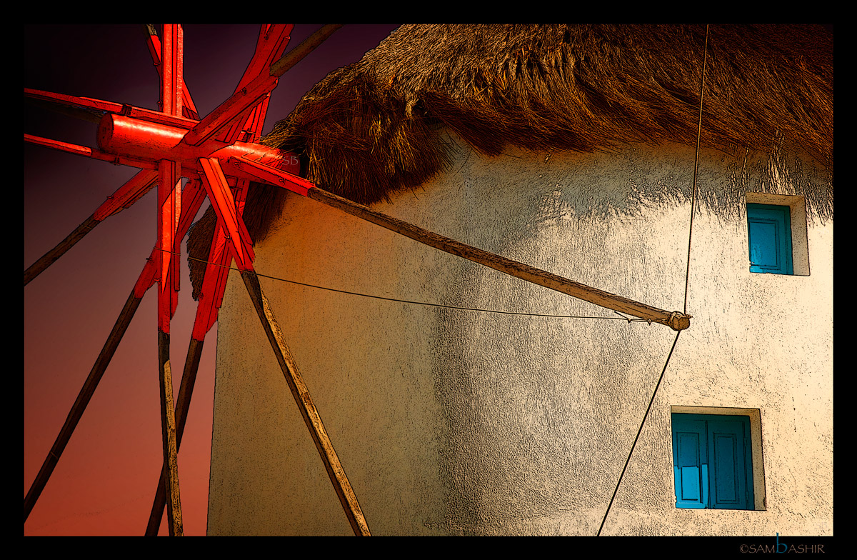 Windmill - Mykonos