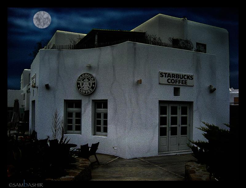 Starbucks goes to the Dark Side