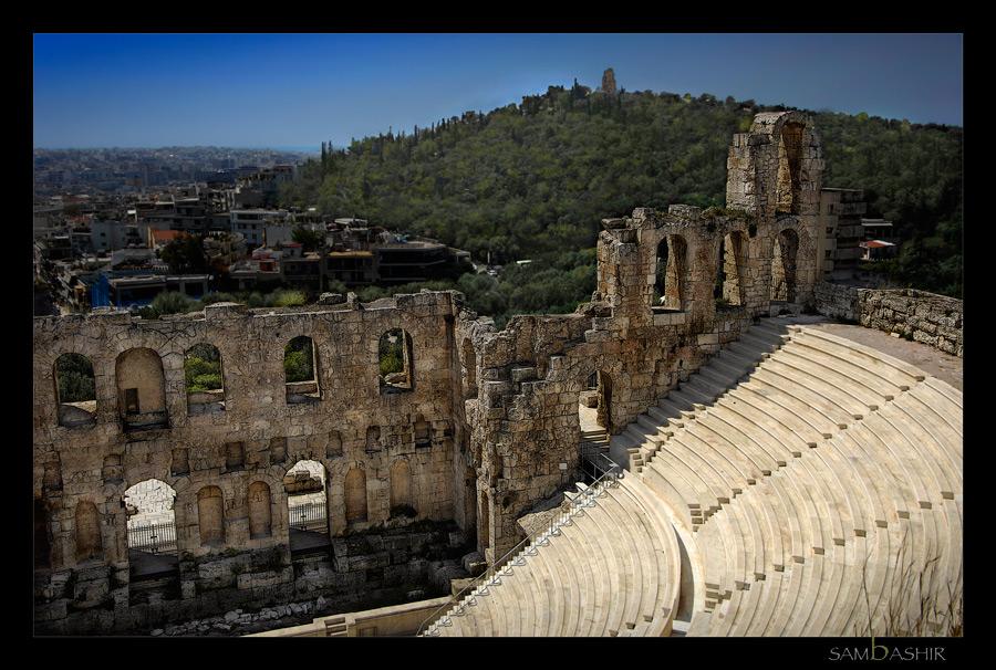 Athens - Theater of Herod Atticus
