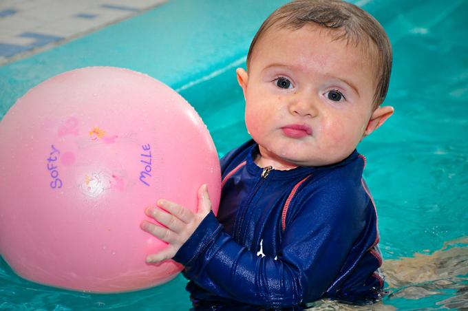 Francesco à la piscine
