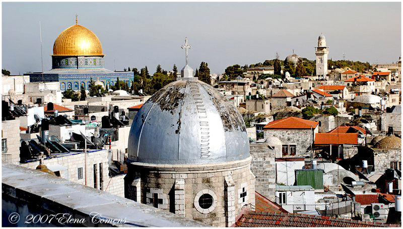Old City Rooftops, Jerusalem