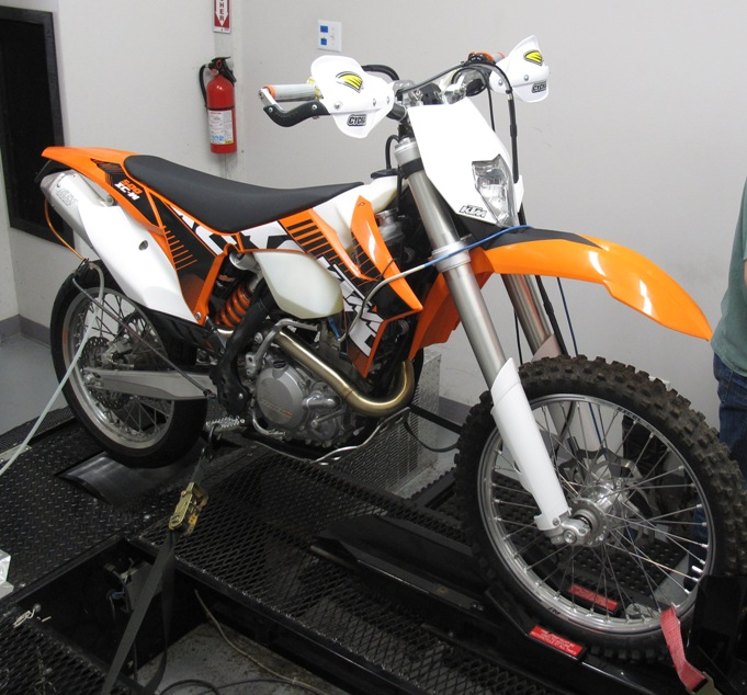 KTM 450/500XCW with JDJetting EFI Tuner