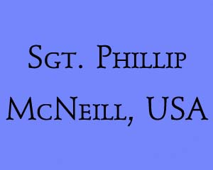Miami Herald article on the death of Sergeant Phillip McNeill