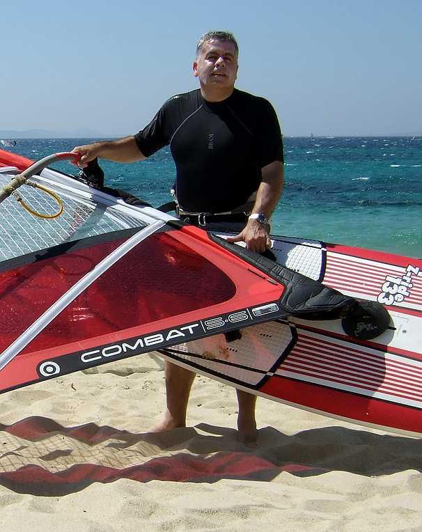 Windsurfing in Naxos in 2007 (48)