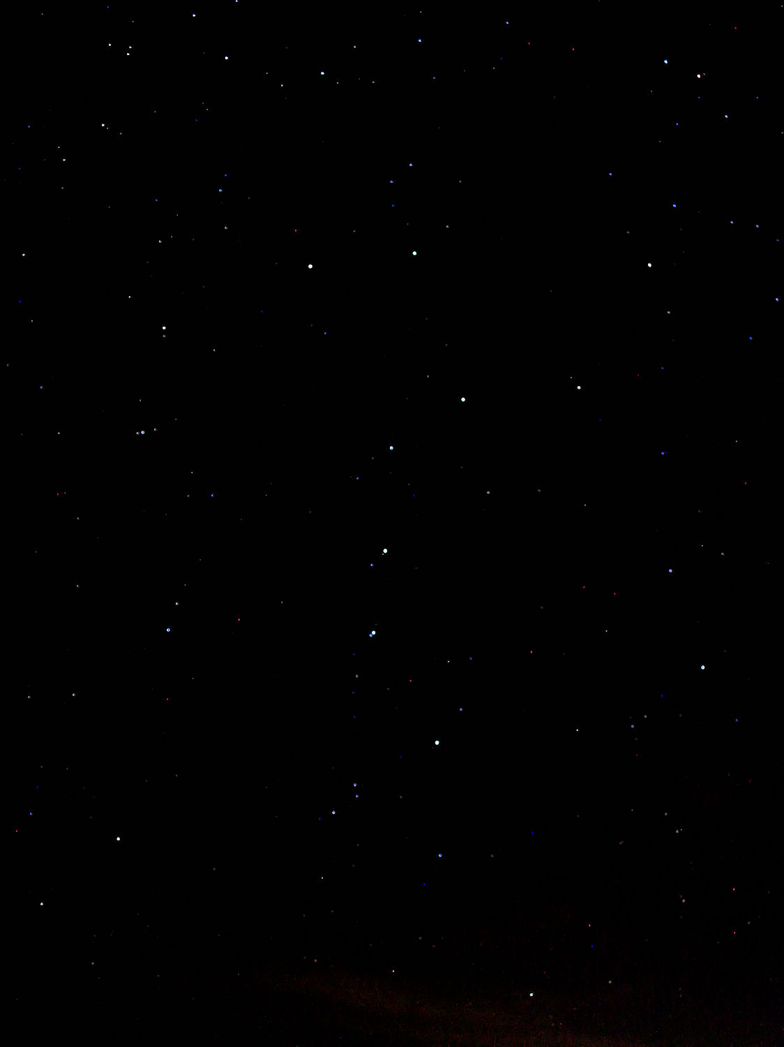 Ursa Major Or The Big Dipper   Picture made 1/31/09