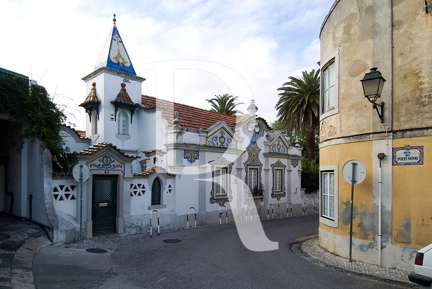 Casa de Santa Maria, na Travessa Visconde da Luz (Interesse Municipal)