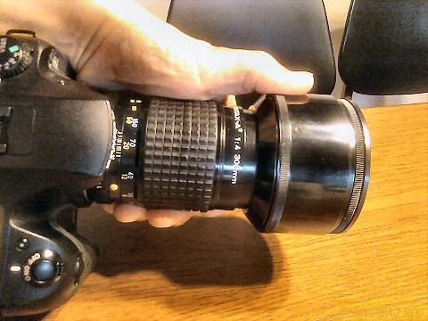 最短的 300mmF4