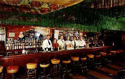 1950 S The Interior And Staff Of The Turf Bar And Grill