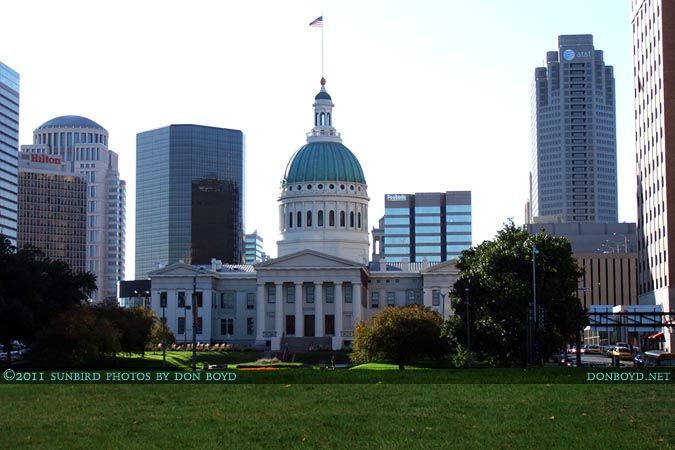 2011 - the Old County Court House in downtown St. Louis