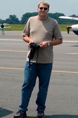 2003 - David Knies at Madison County Executive Airport