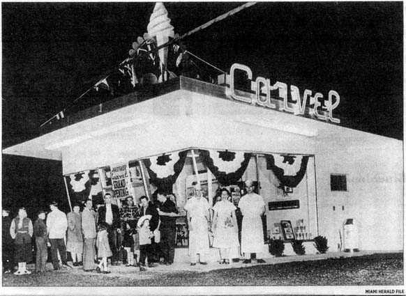 1950s & 60s - a typical Carvel in Miami