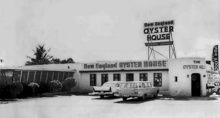Tampa Strip Clubs >> 1965 - New England Oyster House restaurant at 16915 S. Federal Highway, Perrine photo - Don Boyd ...