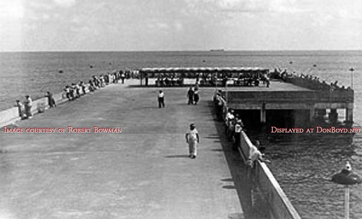 1950 The South Beach Fishing Pier